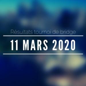 Tournoi du 11/03/2020