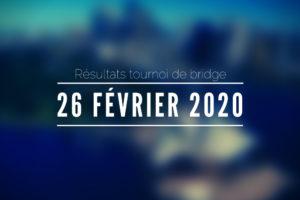 26 Février 2020