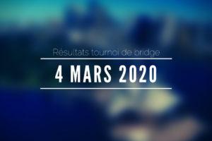 4 mars 2020